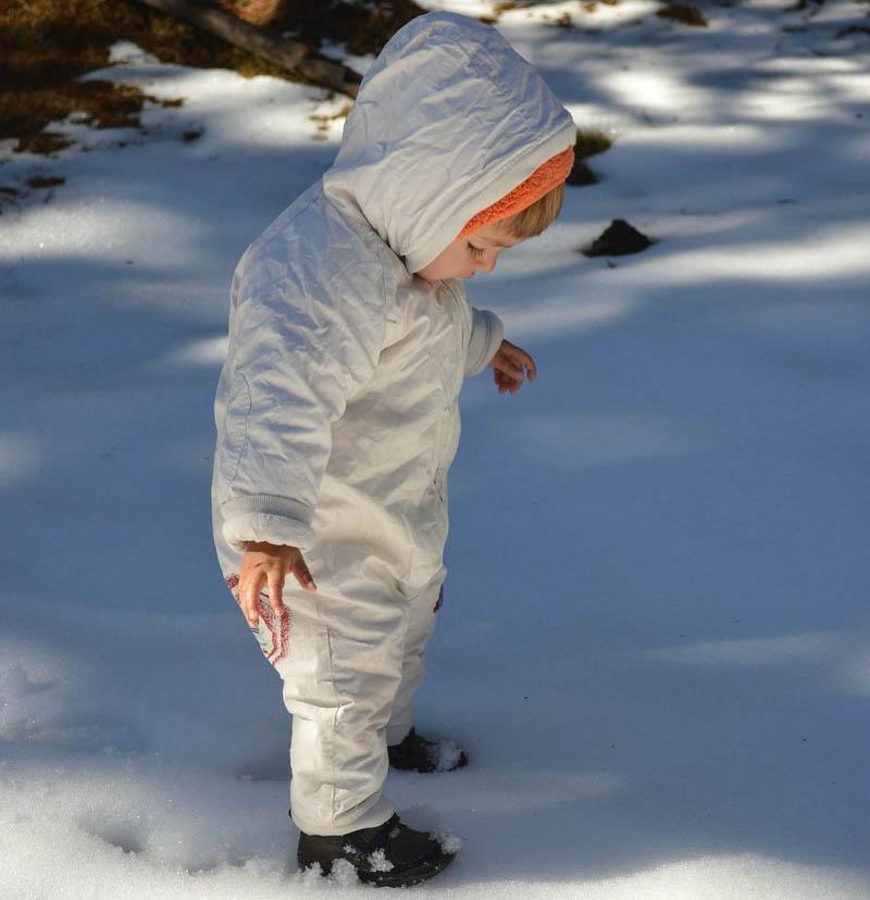 kobinezon zimowy dla dziecka