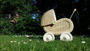 Markowy wózek dla dziecka